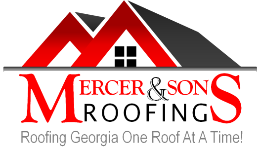 Mercer & Sons Roofing Logo
