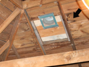 Signs of Attic Roof Leaking